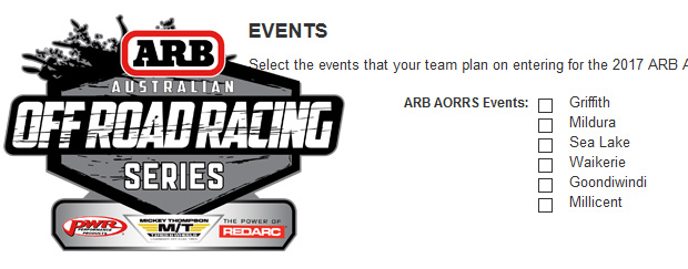 2017 ARB AORRS Registration Now Open