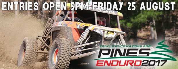 Pines Entries Open Friday 25th at 5pm