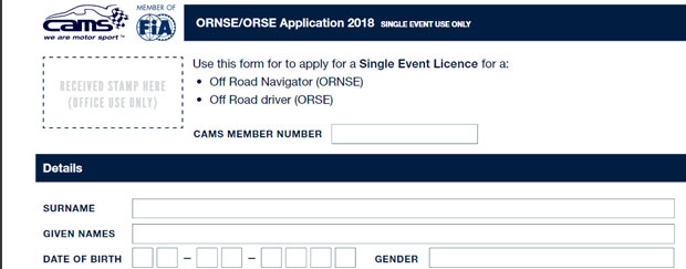 Changes to CAMS Single Event Licences