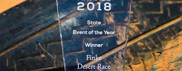 Finke, event of the year at the CAMS Motorsport awards