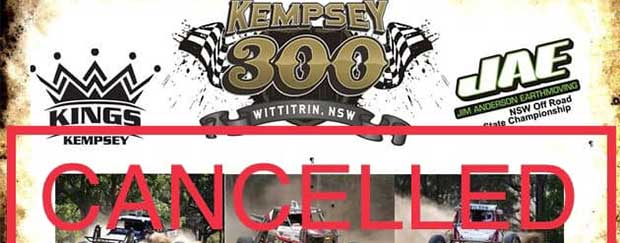 Kempsey 300 Cancelled